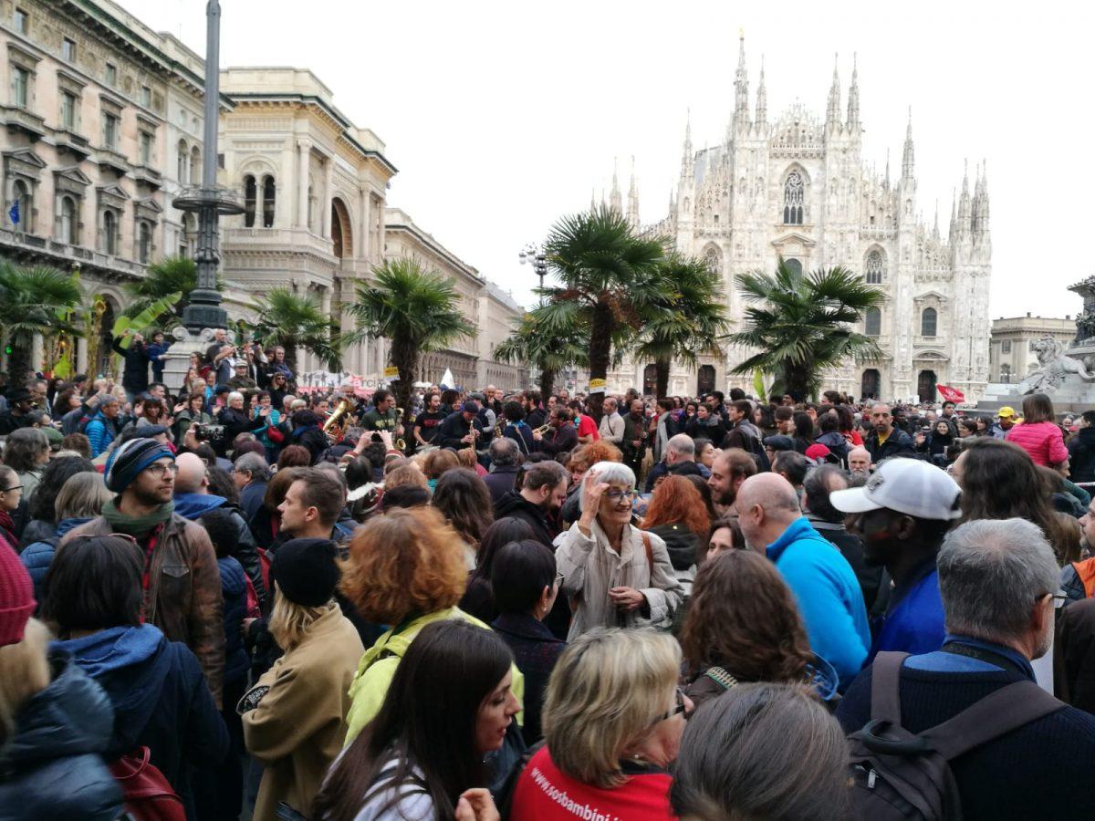 'People, prima le persone': momenti della manifestazione