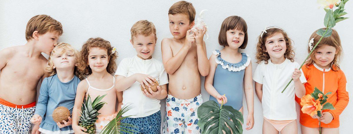 Quando i costumi da bagno per bimbi sono eco-friendly
